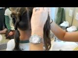 2 хвостика в виде сердечек (детская прическа), pricheski-video.com